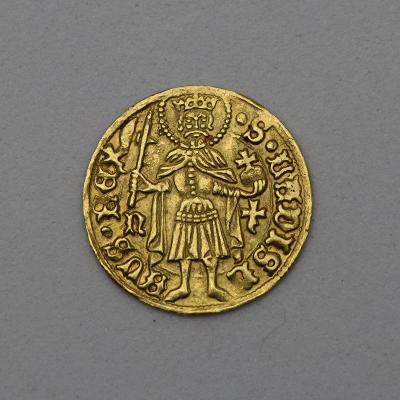 Zlatý Uherský Dukát Matyáše Korvína (1458-90) - Vzácný