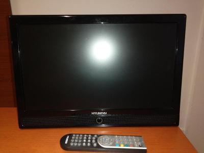 LCD TV Hyundai s vestavěným DVD přehrávačem .