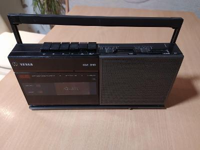 Magnetofon - Kazeťák- TESLA KM 310 SE  Retro