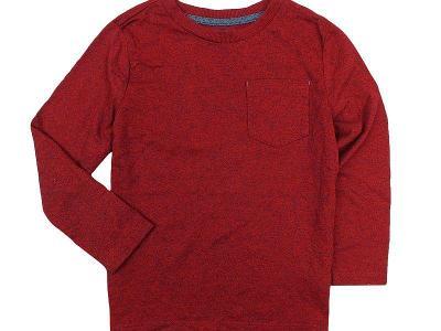 JAKO NOVÉ! Jednoduché, melírované tričko F&F, vel.116
