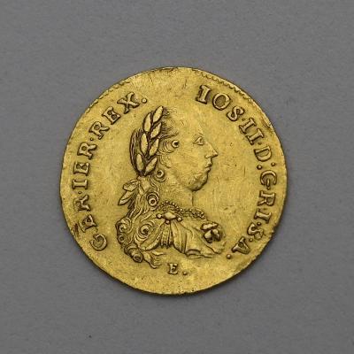Zlatý Spoluvládní Dvoudukát 1779 E - Josef II.