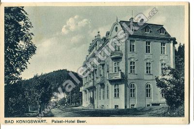 Lázně Kynžvart, Cheb, hotel