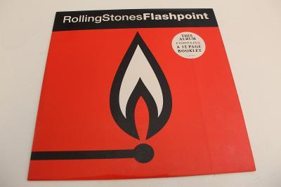 Rolling Stones - Flashpoint - špič. Stav - ČSR - 1991 - LP +booklet