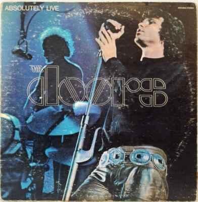 2LP The Doors - Absolutely Live, 1970 EX