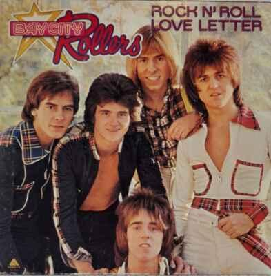 LP Bay City Rollers - Rock N' Roll Love Letter, 1976 EX