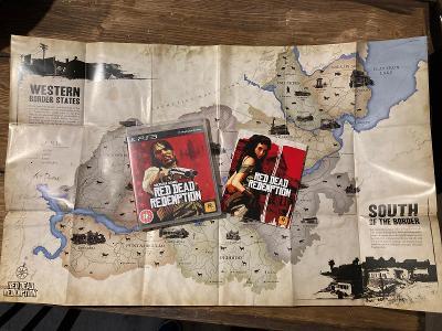 Red Dead Redemption PS3 - ENG - kompletní s manuálem a mapou
