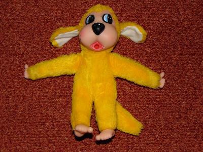 Žlutý mončičák-pejsek