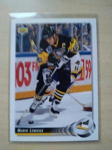 Mario Lemieux Upper Deck 1992-93 č. 26 Pittsburgh Penguins
