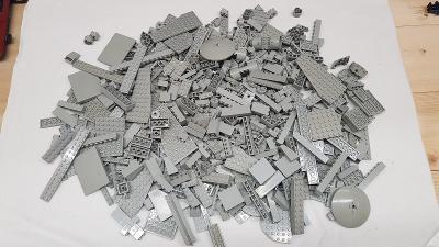 Lego light gray (šedé) díly 1 kg od Legomania