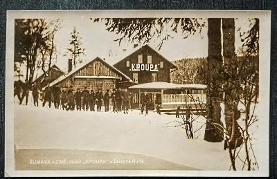 Šumava v zimě Hotel KROUPA v Železná Rudě