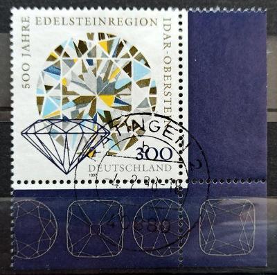 DEUTSCHLAND: Mi.1911 Idar-Oberstein Gem & Jewelry Industry 300pf 1997