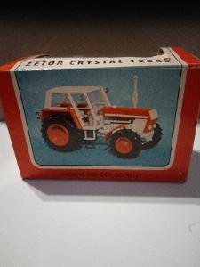 Retro Hračka/ Model Traktor Igra Zetor Crystal 12045