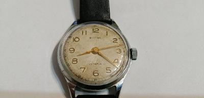 """Náramkové hodinky,,volna"""",kopie strojku Zenith,22kameň,jdoucí."""