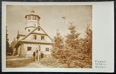 Šumava Panciř 1937 krásný stav