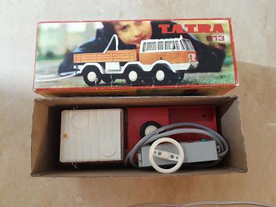 Stará hračka Ťahač Tatra 813 ITES v krabici nie KDN