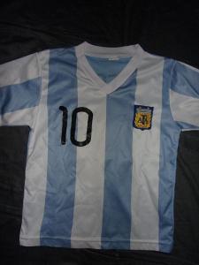 Messi/Argentina-hezký dětský dres