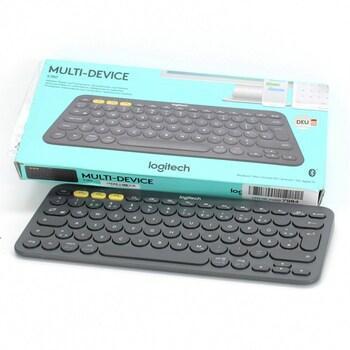 Bezdrátová klávesnice Logitech K380 německá