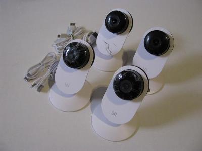 IP kamery YI 1080P     4 ks    od 1Kč