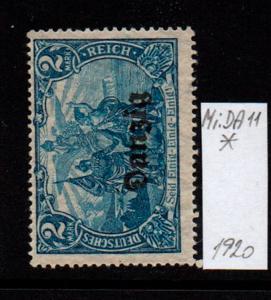 Německo- Danzig 1920 Mi.: 11*