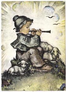 Německo - M.I.Hummel-Malý flétnista