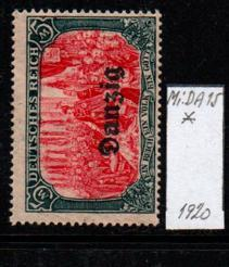 Německo- Danzig 1920 Mi.: 15*