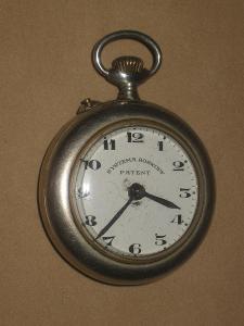 Jednoplášťové kapesní hodinky Systema Roskopf obecný kov
