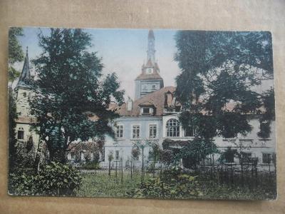 zámek Lužany Přeštice Plzeň jih
