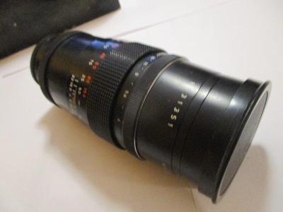 Pentacon 4/200 - objektiv, v původní krabici, made in G.D.R.