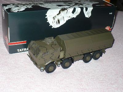 Rarita KADEN 1/43,  vojenská TATRA 815-7 8x8 Pram , vyprodáno