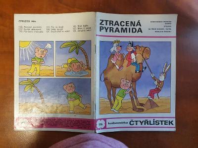 Čtyřlístek  kompletní ročník 1984, 9ks