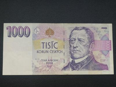 1000Kč 1996 série C25 - skvělý stav!!