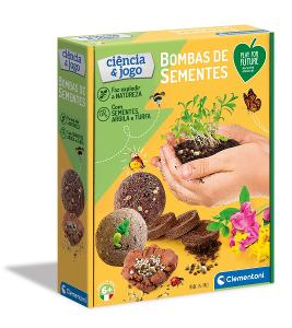 Clementoni Science & Play Semenné bomby