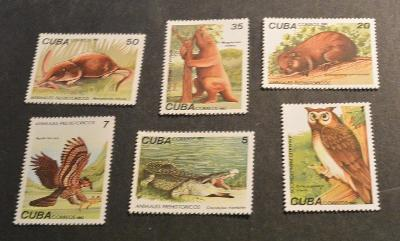 Kuba 1982 ** fauna komplet mi. 2691-2696