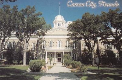 USA - Nevada - CARSON CITY - Capitol  -  hlavní město