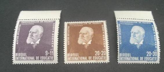 Rumunsko 1942 ** Maiorescu komplet mi. 743-745