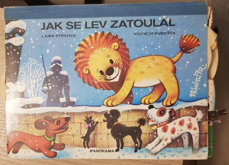 Jak se lev zatoulal, V. Kubašta - Knihy