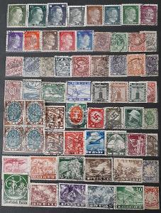 Sbírka poštovnich známek starý Něnecko do 1945r.