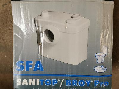 KALOVÉ SANITÁRNÍ ČERPADLO S DRTIČEM k WC