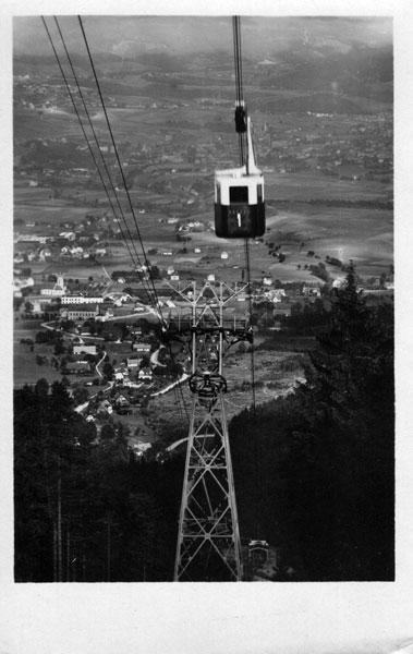 Pohlednice - Liberec lanovka na Ještěd