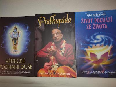 3x hinduistické knížky