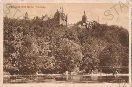Hradec nad Moravicí, Schloss Grätz bei Troppau