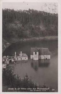 Starý Bítov (Alt Vöttau) - přehrada - zatopený kos