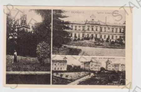 Plzeň - Jih, Dobřany, Více pohledů, Ústav, Kostel