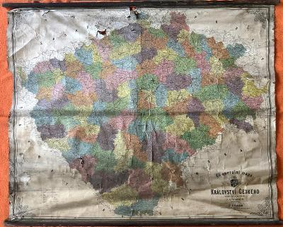 Mapa stará - Generální mapa království českého, 1907