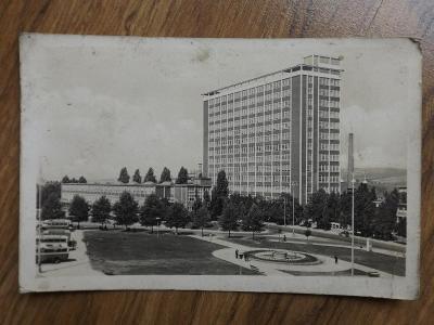 pohlednice - Správní budova Baťových závodů, Zlín, Baťa