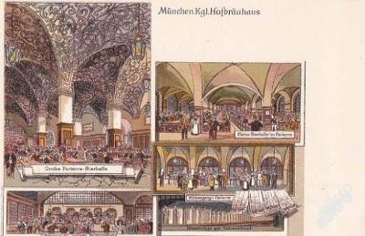 NĚMECKO - MÜNCHEN - HOFBRAUHAUS SÁLY - 30-AX50
