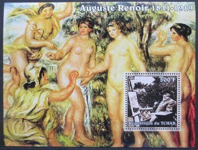 Čad 2002 Umění, Pierre-Auguste Renoir Mi# Block 350 0567