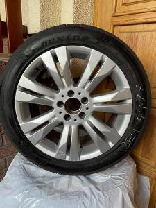 Disky Mercedes + letní pneumatiky Dunlop