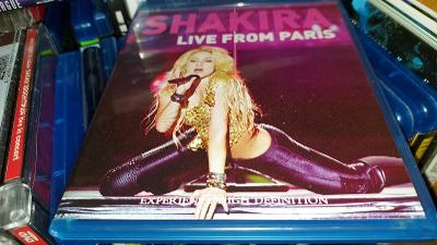 Udělejte si koncert doma! Shakira - Live From Paris koncert na Blu-ray
