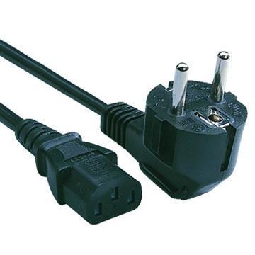 Napájecí kabel pro PC a monitor 3pin 230V
